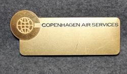 Copenhagen Air Services, lentokenttäyhtiö