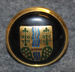 Vejle Kommune. Danish municipality, cap button