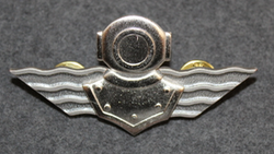 Finnish Navy Diver badge. 2nd class.