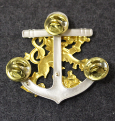 Finnish Navy beret badge.