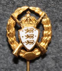 D.d.s.g. & i, De Danske Skytte-, Gymnastik- og Idrætsforeninger, shooting qualification,  crown & brooch