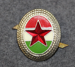 Hungarian Army, cap badge. Red Star