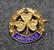 RSF Håndbold, urheilumerkki, 925 hopeaa, kullattu