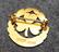 RSF Atletik, urheilumerkki, 925 hopeaa, kullattu