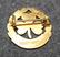 RSF Bordtennis, urheilumerkki, 925 hopeaa, kullattu