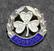 RSF Fodbold, jalkapallomerkki, 925 hopeaa