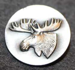 Moosehead, swedish hunters association. 25mm,