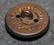 Hirvenpää, ruotsin metsästäjäinliitto. 25mm, vanha malli, pronssi