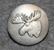 Hirvenpää, ruotsin metsästäjäinliitto. 22mm, vanha malli