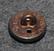 Autonkuljettaja / kuski, ruotsalainen, 14mm, pronssi