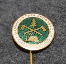 Gammelkroppa Skogskola kamratförening. Metsäkoulun opiskelijayhdistys