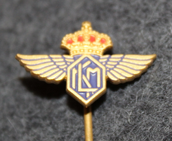 KLM, Royal Dutch Airlines, pin LAST IN STOCK