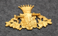Swedish Police / Chief Constable Cap Badge, Södermanlands län / county, pre 1926