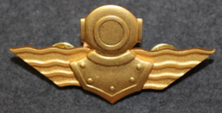 Finnish Navy Deep Diver badge.