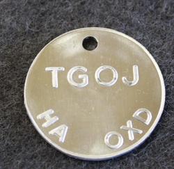 TGOJ, Trafik AB Grängesberg-Oxelösund Järnvägar. HA OXD, rautatiet