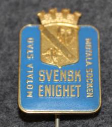 Motala Stad, Motala Socken, Svensk Enighet