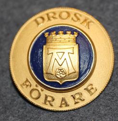 Drosk Förare Västerås. Coach / Taxi driver.
