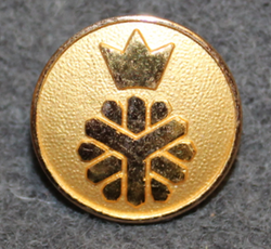 Domänverket, Swedish forest administration. 19mm gilt