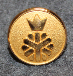 Domänverket, Swedish forest administration. 14mm gilt