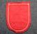 Burgenland, matkamuisto kangasmerkki, huopa.