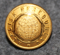 Nordisk Resebureau, travel agency, 13mm gilt