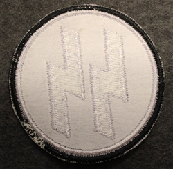 Waffen SS, 50mm sew on patch
