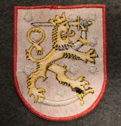 Coat of arms of Finland, sew on patch