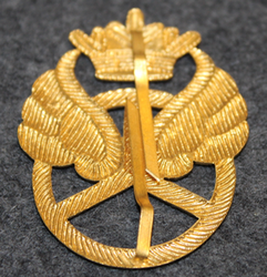 Motorist cap badge. W/ crown