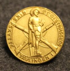 Riksskyttetävlingen i Sundsvall 1939. Ammuntakisat.