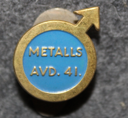 Metalls Avd. 41, labour union. LAST IN STOCK