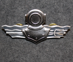 Finnish Navy Combat Diver badge. 2nd class