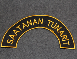 Saatanan tunarit, shoulder sleeve patch