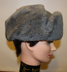 Finnish Army fur cap, M/39. Original, issued