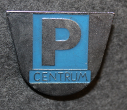 P Centrum, parking house monitor.