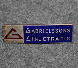 Gabrielssons Linjetrafik, Umeå, bus company  LAST IN STOCK