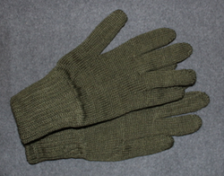 Wool Gloves, Dutch army, unissued.