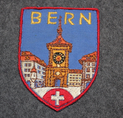 Bern, souvenir patch.