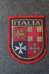 Italia, souvenir patch.