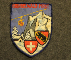 Grindelwald-first, souvenir patch.