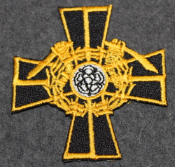 Mannerheim Cross, sew on patch