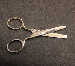 Scissors, stainless. German Army