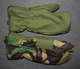 MK3 Arctic Inner mittens DPM, UK army. Trigger / smartphone finger.