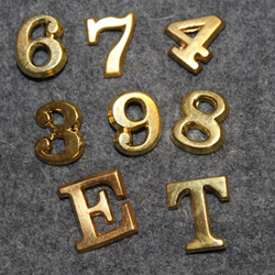Finnish Army insignia, numbers and letters