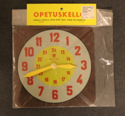 CCCP Educational clock / toy. 1975