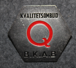 B.K.A.B. Bulten Kanthal AB, Kvalitetsombud. Bolt manufacturers quality control.