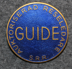Auktoriserad Reseledare, S.R.R. GUIDE.