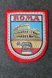 Roma SPQR, souvenir patch.