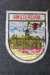 Amsterdam, souvenir patch.