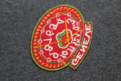 Geneve, souvenir patch.