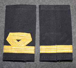 Epaulettes / Rank Slides, Finnish Merchant navy.